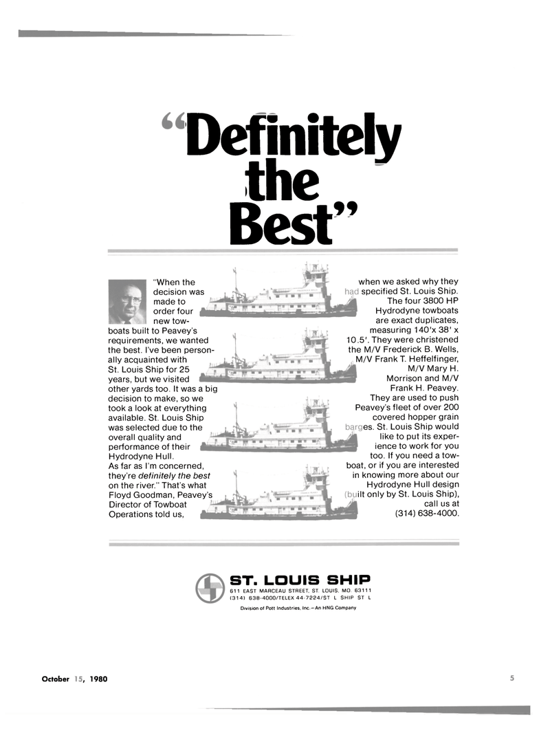 Maritime Reporter Magazine, page 3,  Oct 15, 1980 Floyd Goodman