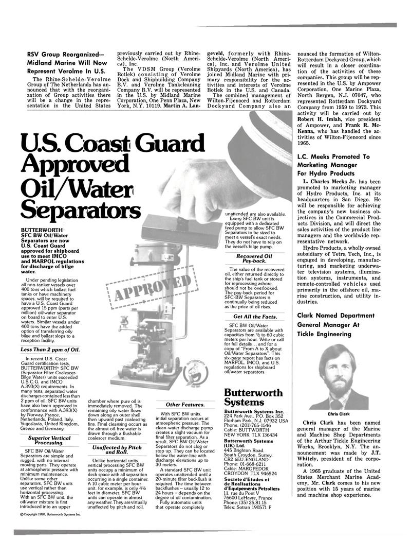 Maritime Reporter Magazine, page 6,  Oct 15, 1980 J.T. Whitely
