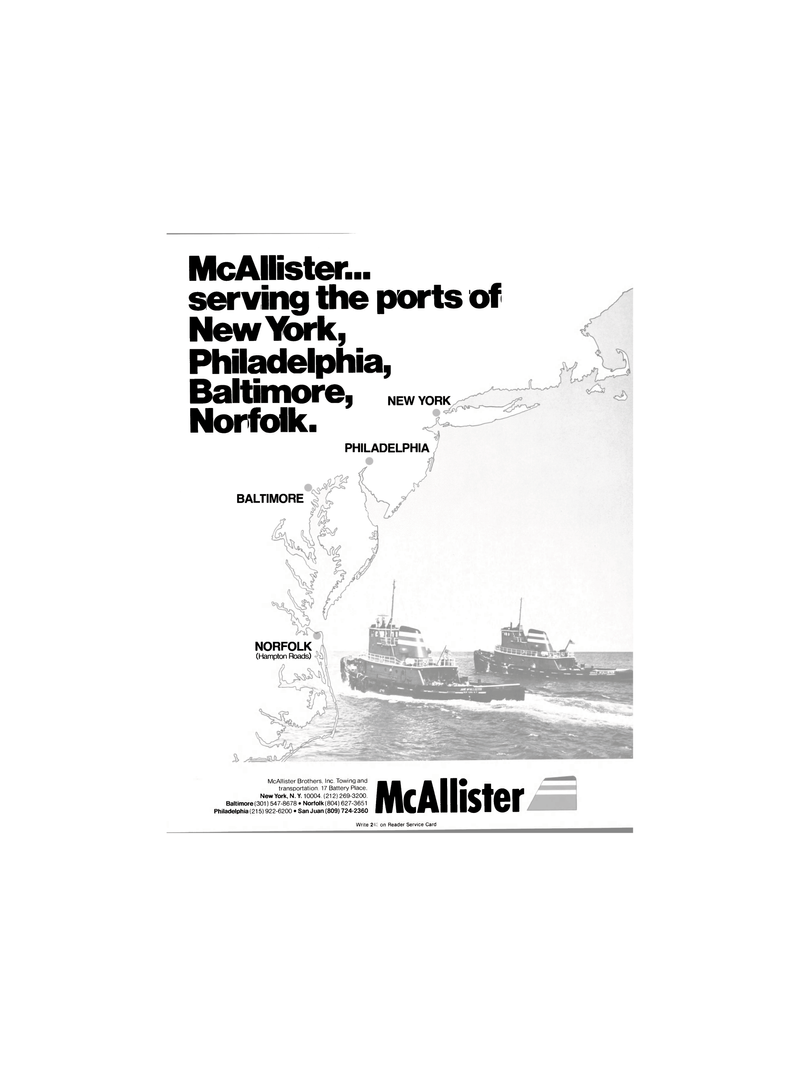 Maritime Reporter Magazine, page 3,  Nov 1980 McAllister Brothers Inc.