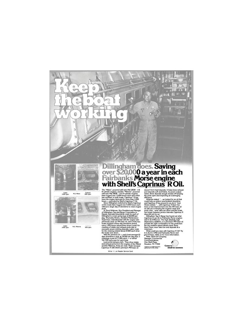 Maritime Reporter Magazine, page 14,  Dec 1980 One Shell Plaza