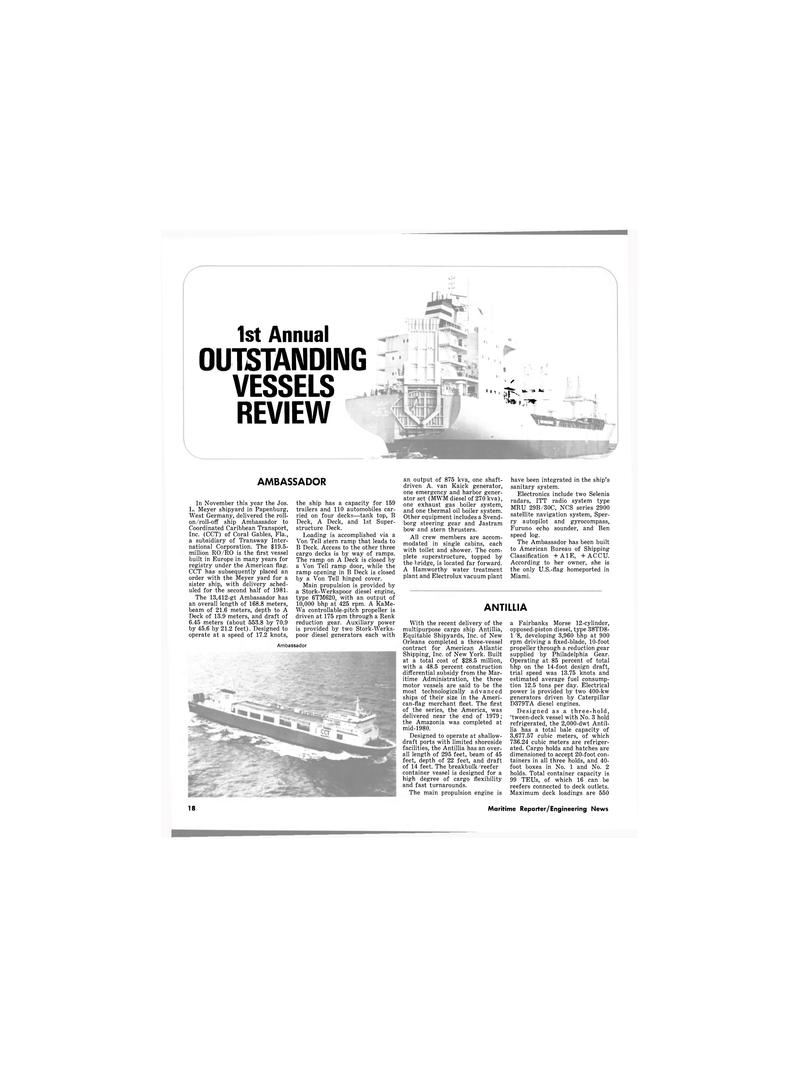 Maritime Reporter Magazine, page 16,  Dec 1980 2900 satellite navigation system, Sper