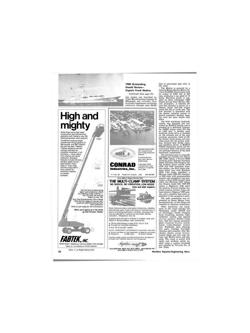 Maritime Reporter Magazine, page 20,  Dec 1980