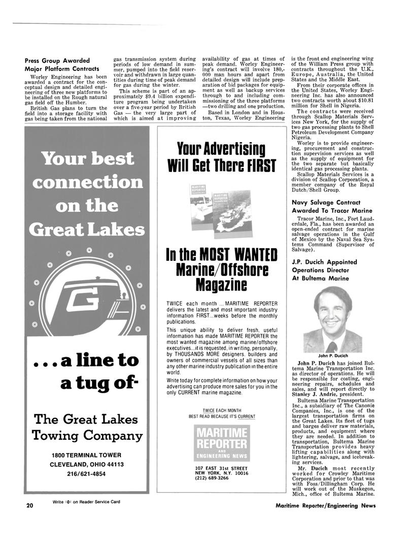 Maritime Reporter Magazine, page 14,  Dec 15, 1980