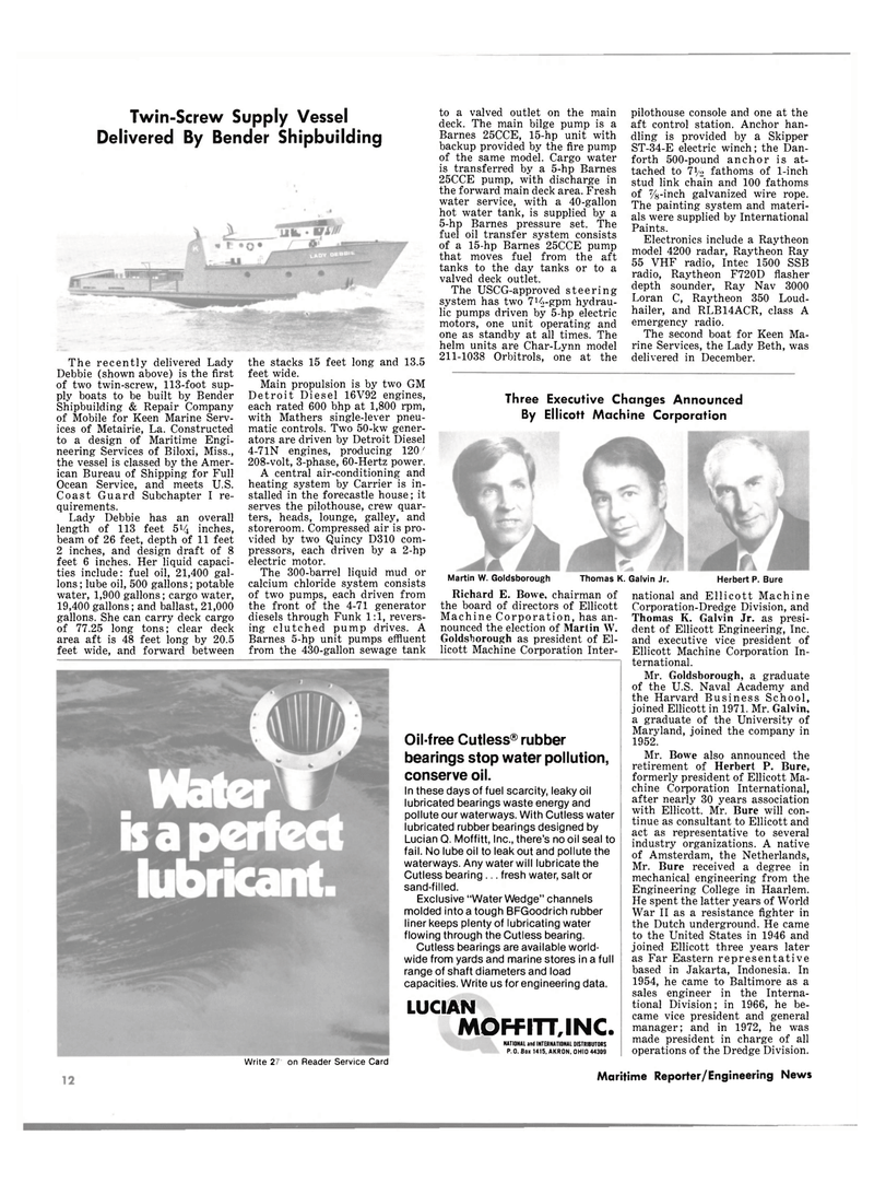 Maritime Reporter Magazine, page 10,  Jan 15, 1981 Maryland