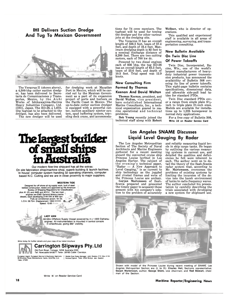 radio frequency, Maritime Reporter Magazine April 15, 1981 #16