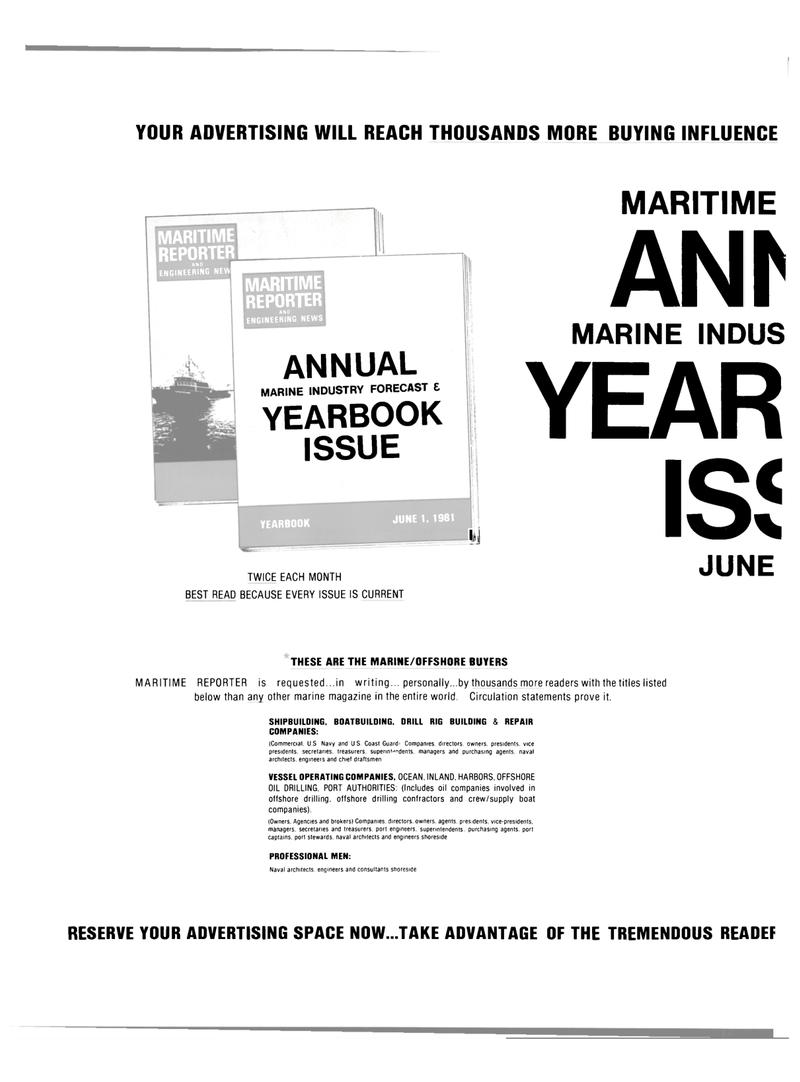 Maritime Reporter Magazine, page 36,  Apr 15, 1981 Port Authorities