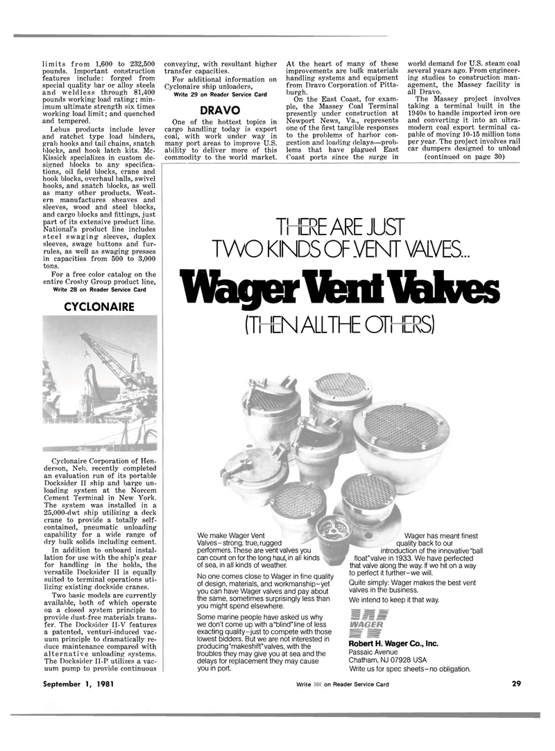 Maritime Reporter Magazine, page 27,  Sep 1981 New Jersey