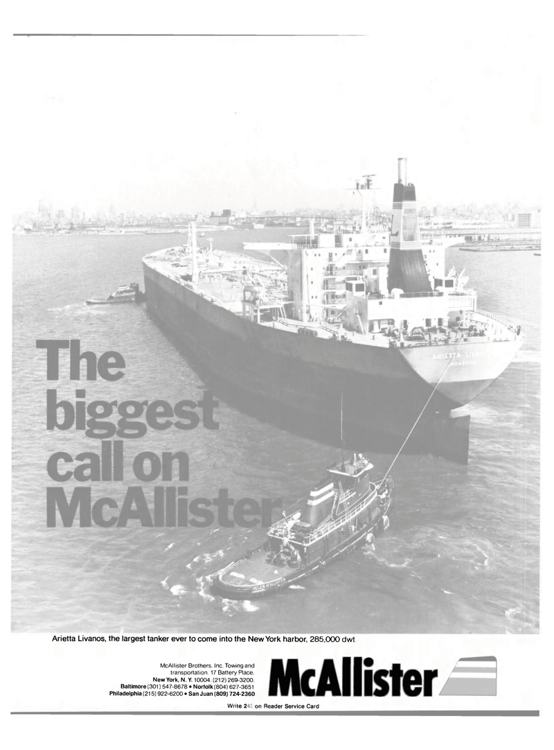 Maritime Reporter Magazine, page 1,  Sep 1981