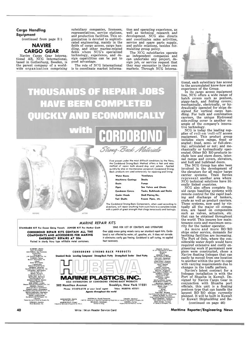 Maritime Reporter Magazine, page 38,  Sep 1981 Massachusetts