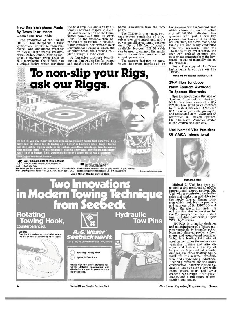 Maritime Reporter Magazine, page 4,  Sep 1981 Michigan