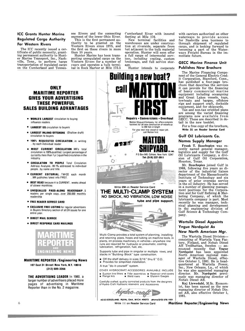 Maritime Reporter Magazine, page 4,  Oct 1981 Massachusetts