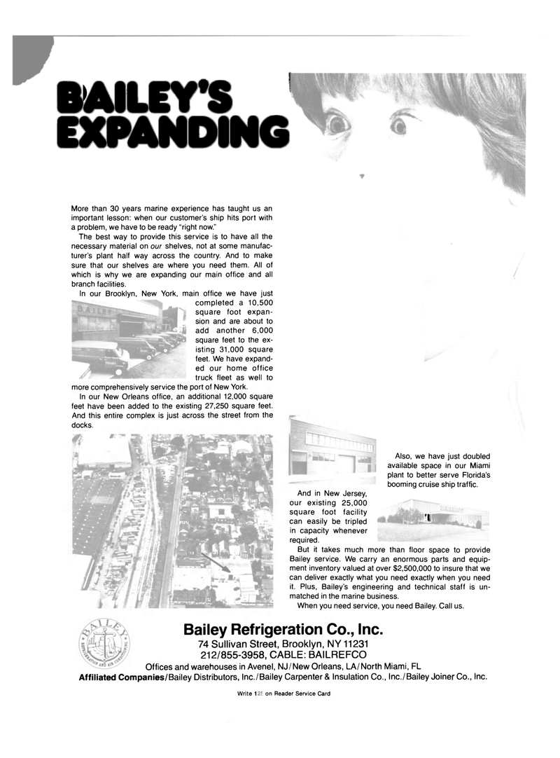 Maritime Reporter Magazine, page 2nd Cover,  Oct 15, 1981 New York