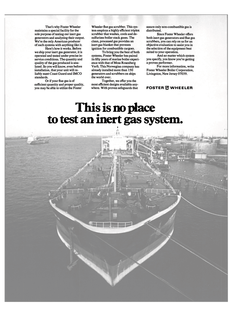 Maritime Reporter Magazine, page 22,  Oct 15, 1981 inert gas system