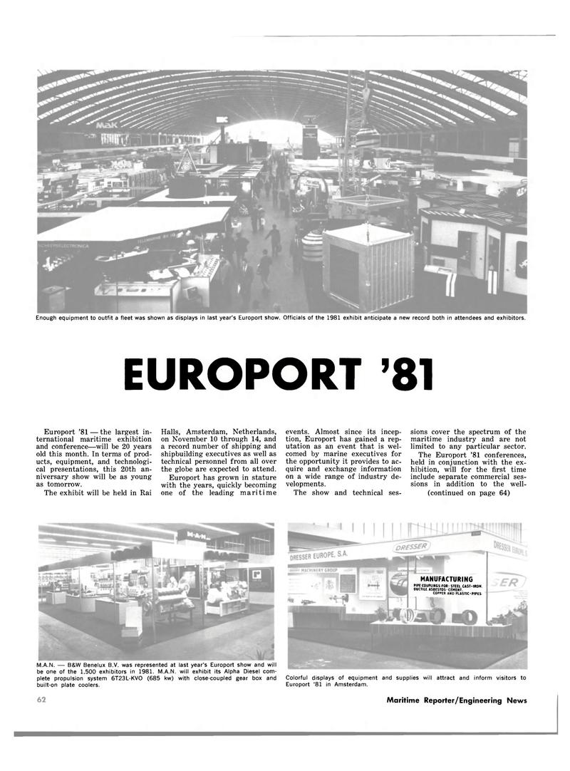 Maritime Reporter Magazine, page 68,  Nov 1981 Netherlands