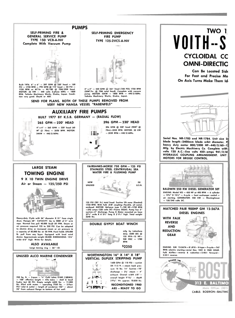 Maritime Reporter Magazine, page 26,  Dec 15, 1981 metal