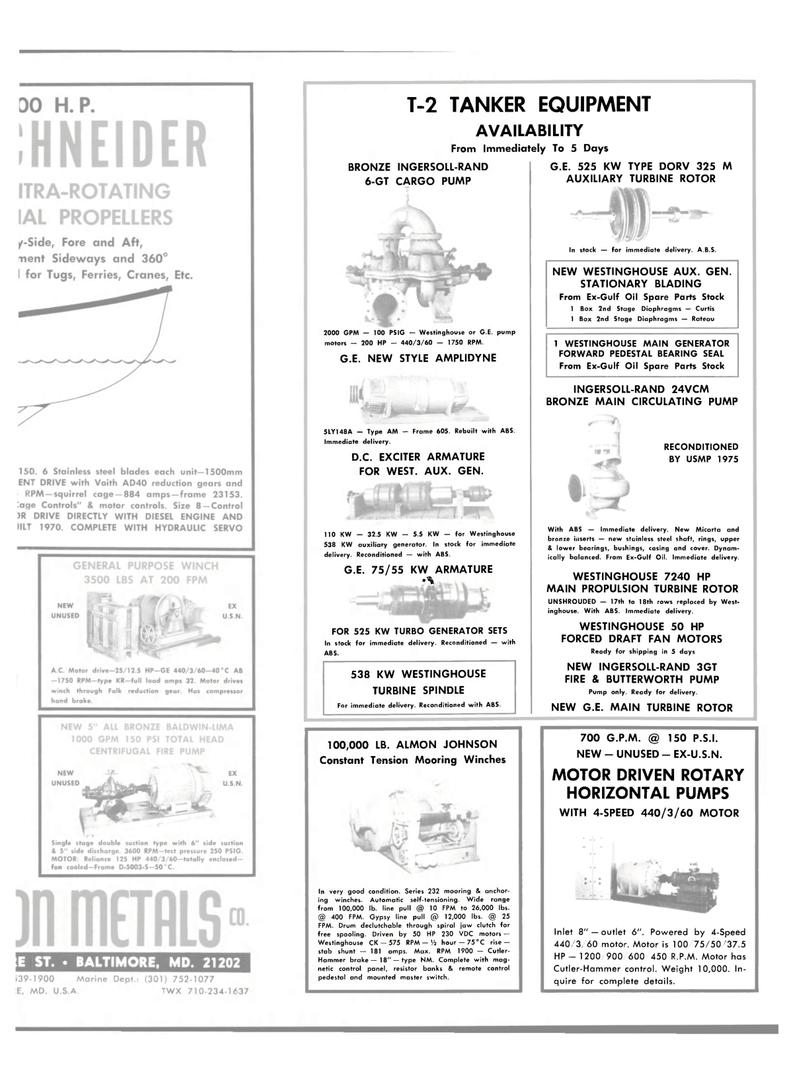 Maritime Reporter Magazine, page 27,  Dec 15, 1981 STATIONARY BLADING