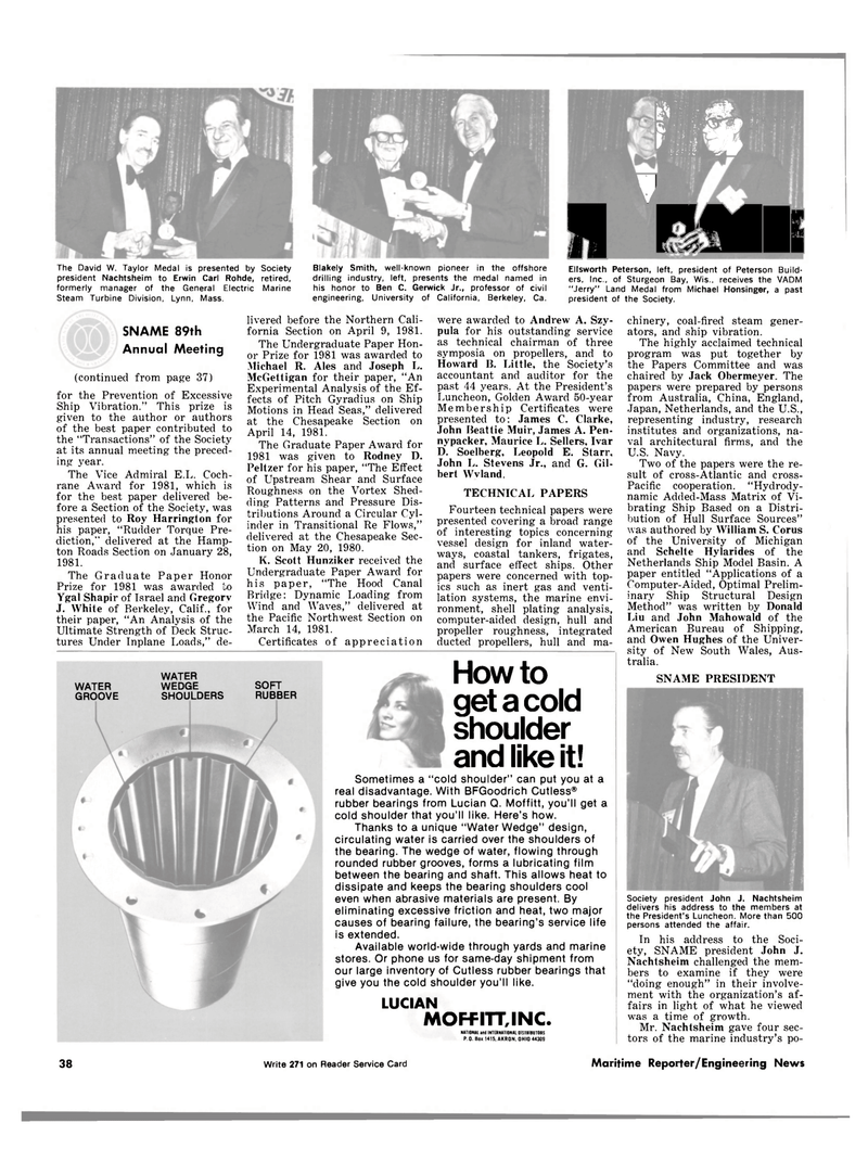 Maritime Reporter Magazine, page 32,  Dec 15, 1981