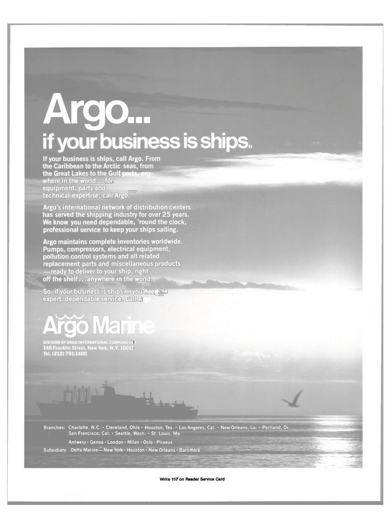 Maritime Reporter Magazine, page 3rd Cover,  Dec 15, 1981 Washington