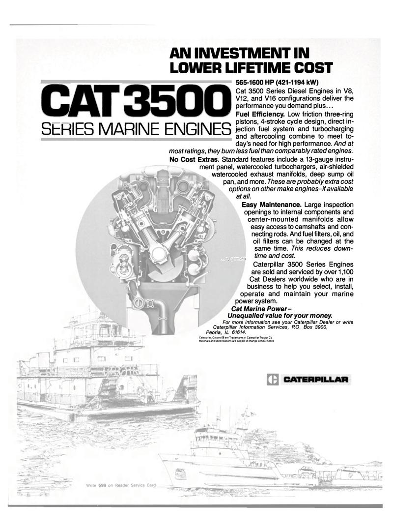 Maritime Reporter Magazine, page 11,  Feb 15, 1983