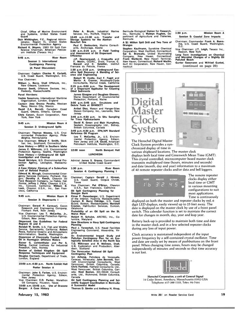 Maritime Reporter Magazine, page 15,  Feb 15, 1983