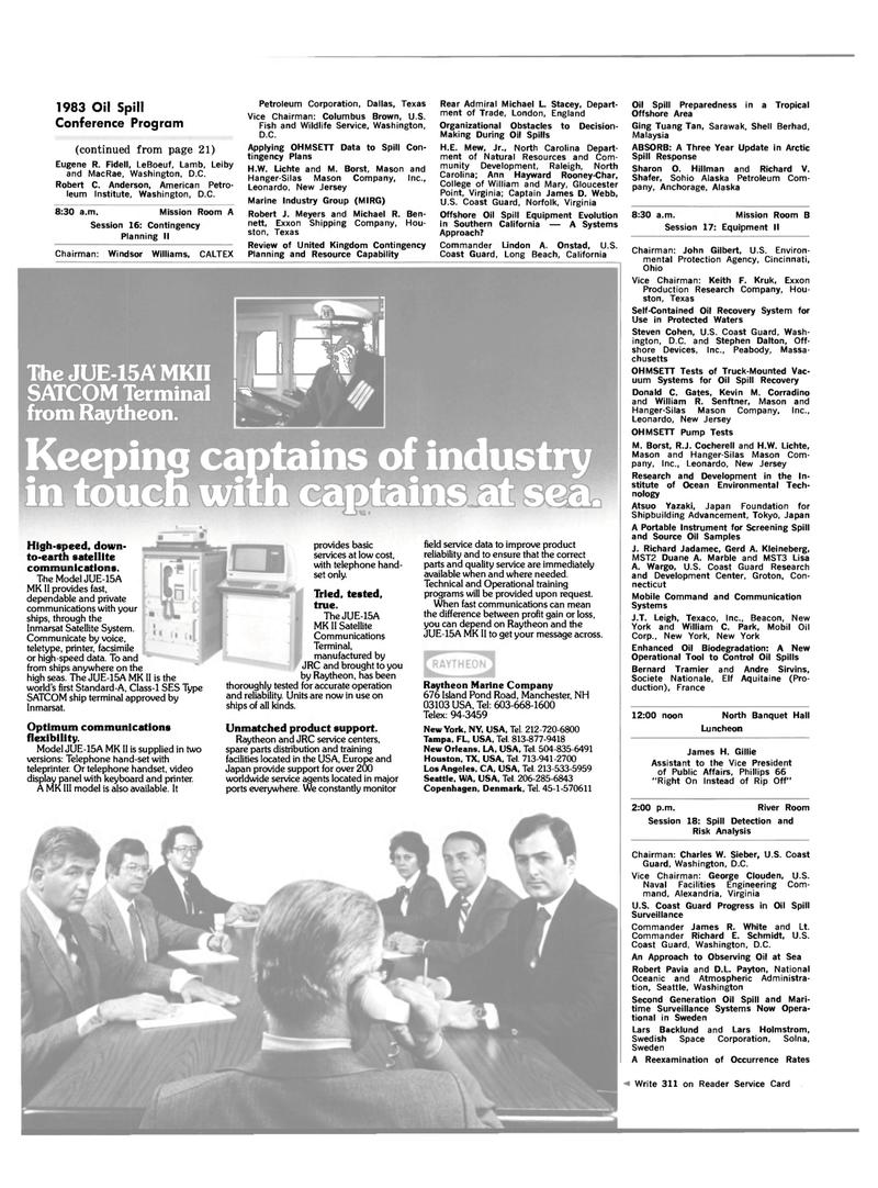 Maritime Reporter Magazine, page 18,  Feb 15, 1983
