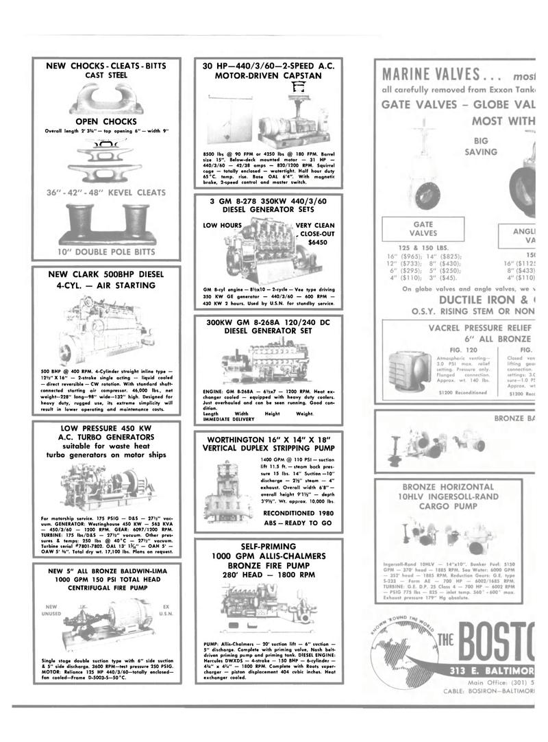Maritime Reporter Magazine, page 24,  Feb 15, 1983