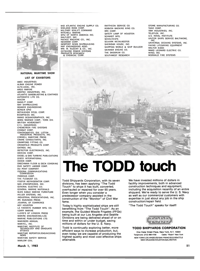 Maritime Reporter Magazine, page 51,  Mar 1983 MID ATLANTIC ENGINE SUPPLY CO. MIDLAND ROSS CORP. MILITARY SEALIFT COMMAND
