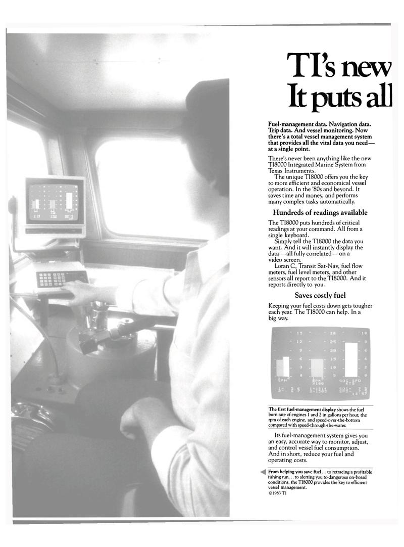 Maritime Reporter Magazine, page 20,  Mar 15, 1983
