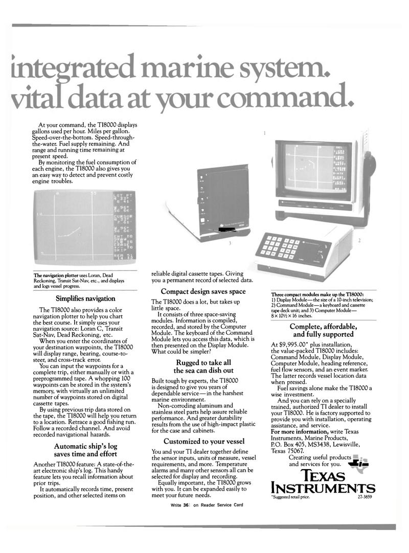 Maritime Reporter Magazine, page 21,  Mar 15, 1983
