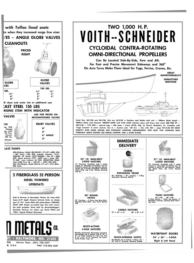 Maritime Reporter Magazine, page 31,  Mar 15, 1983