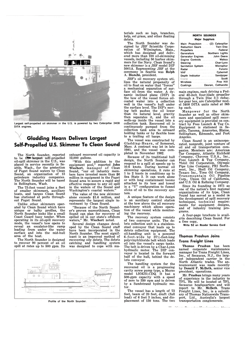Maritime Reporter Magazine, page 36,  Mar 15, 1983 New Jersey