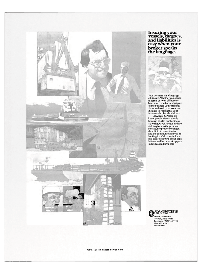 Maritime Reporter Magazine, page 3rd Cover,  Mar 15, 1983