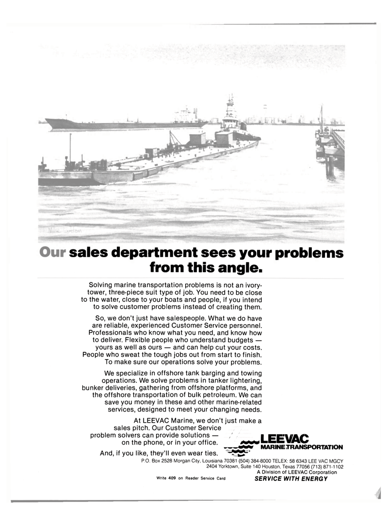 Maritime Reporter Magazine, page 2nd Cover,  Jul 15, 1983
