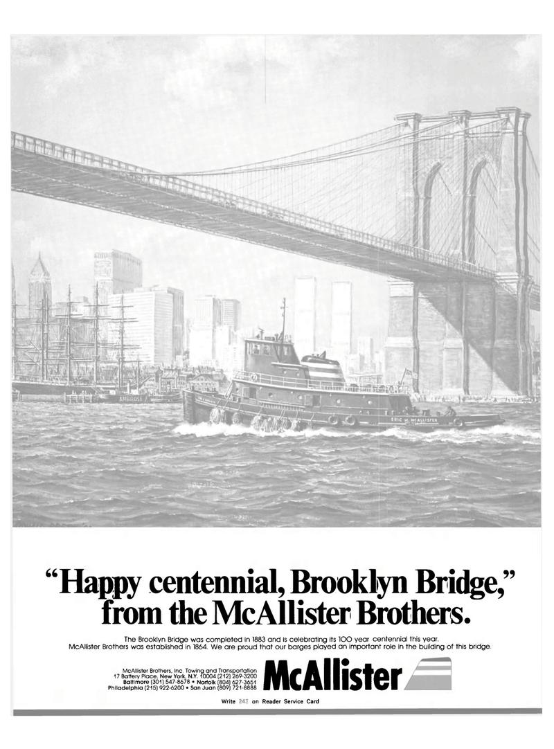 Maritime Reporter Magazine, page 1,  Aug 1983