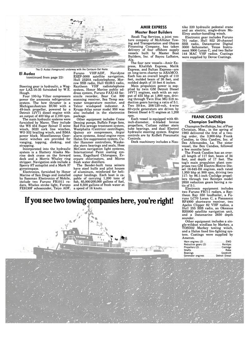 Maritime Reporter Magazine, page 22,  Jan 1984 Mississippi