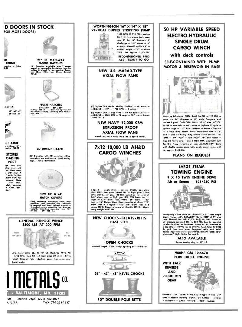 Maritime Reporter Magazine, page 33,  Jan 1984 steel