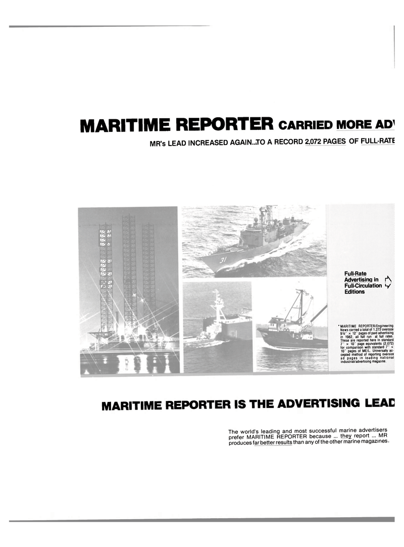 Maritime Reporter Magazine, page 34,  Jan 1984 AP MR