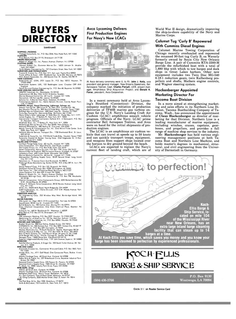 Maritime Reporter Magazine, page 60,  Jan 1984 Charles Piersall