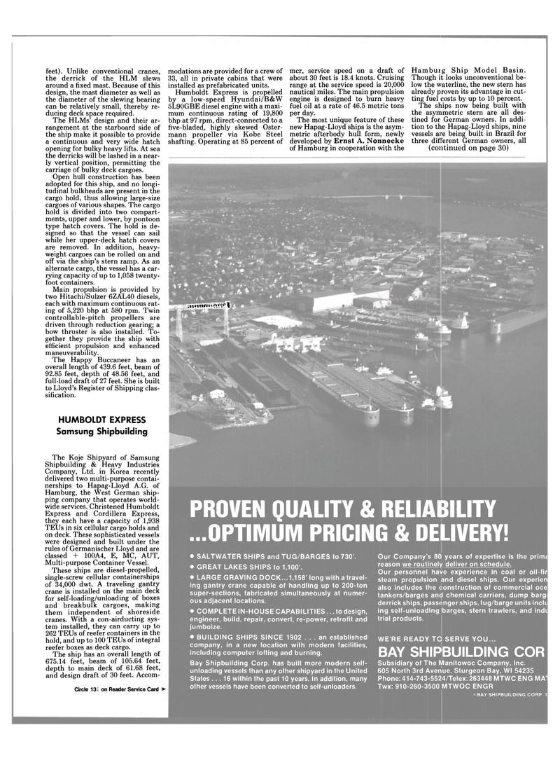Maritime Reporter Magazine, page 25,  Dec 1984