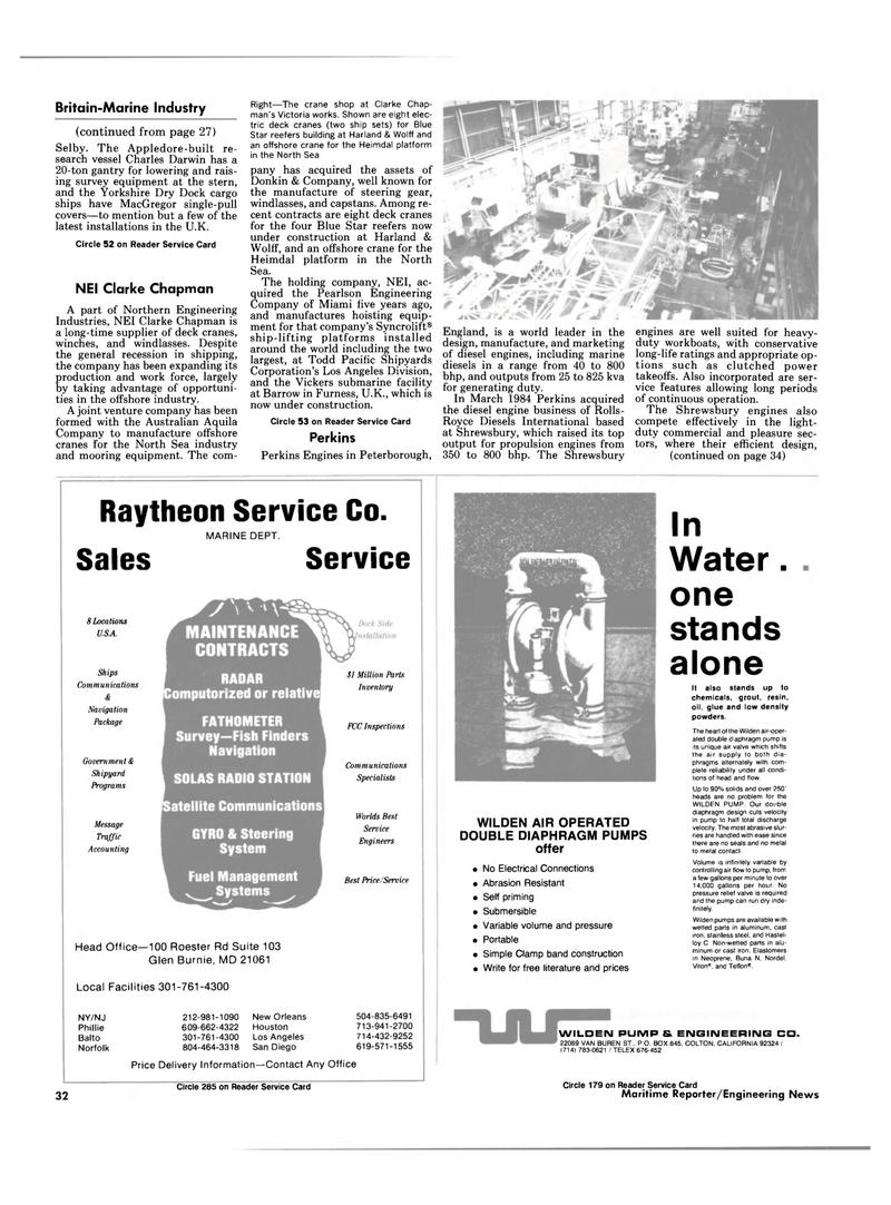 Maritime Reporter Magazine, page 30,  Mar 1985 Glen Burnie