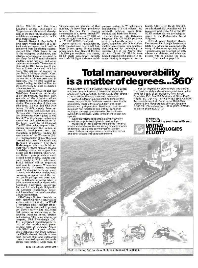 Maritime Reporter Magazine, page 9,  Mar 15, 1985 Ohio