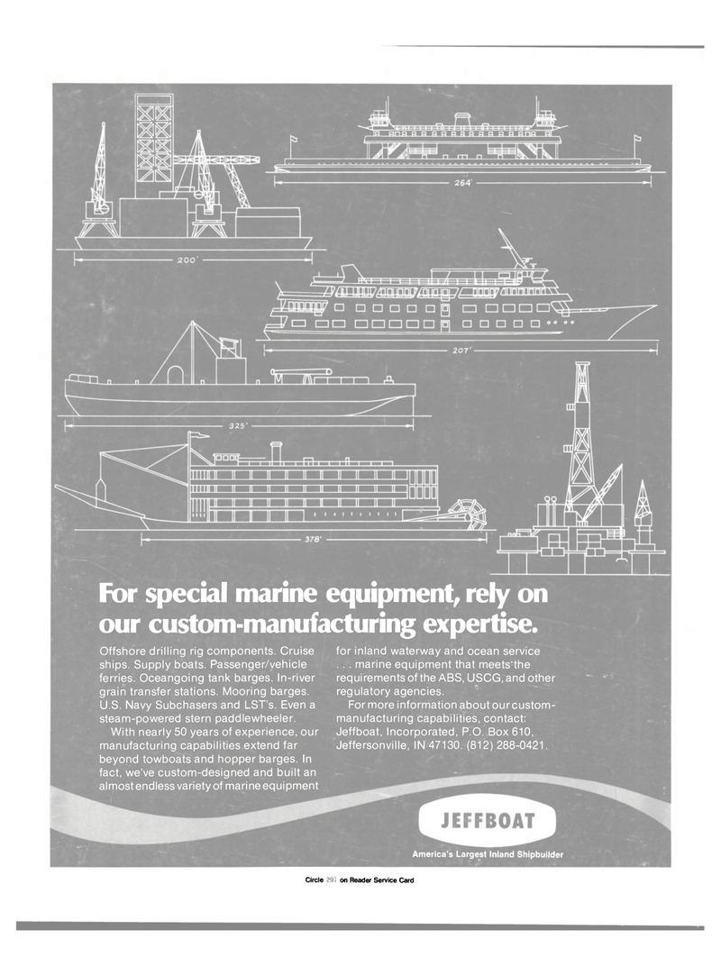 Maritime Reporter Magazine, page 4th Cover,  Mar 15, 1985 manufacturing