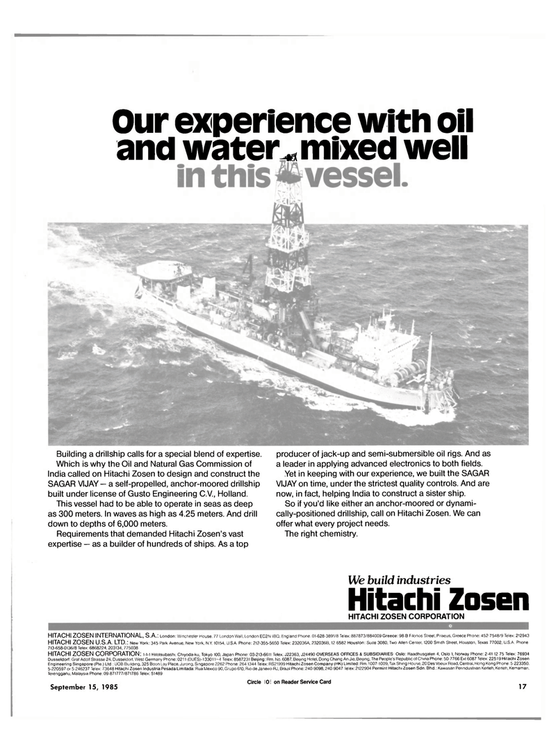 Maritime Reporter Magazine, page 15,  Sep 15, 1985 Allen Center