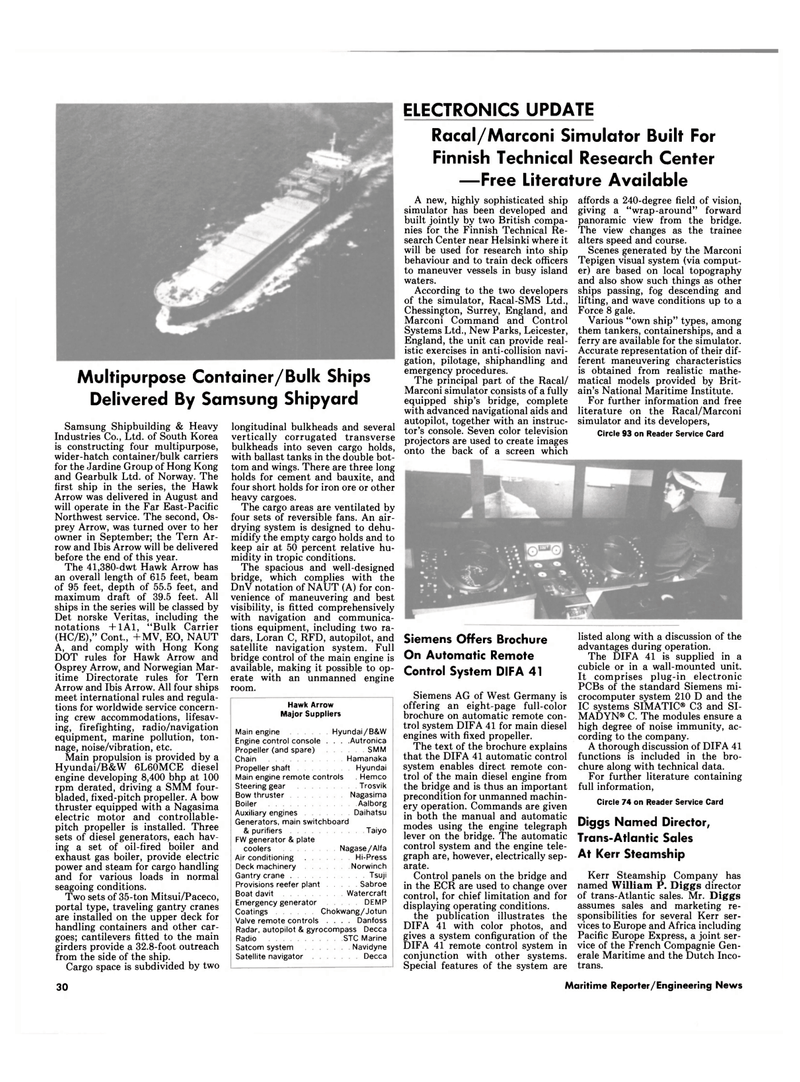 Maritime Reporter Magazine, page 28,  Oct 15, 1985 National Maritime Institute
