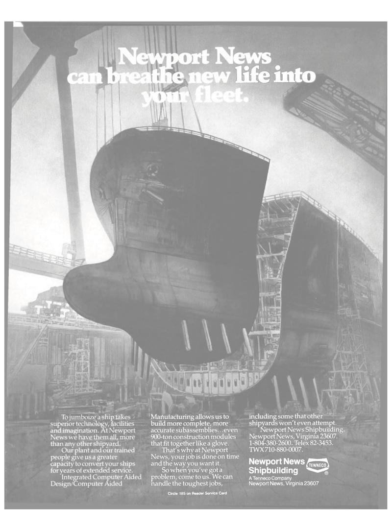 Maritime Reporter Magazine, page 11,  Nov 1985