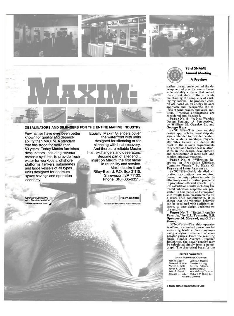 Maritime Reporter Magazine, page 48,  Nov 1985