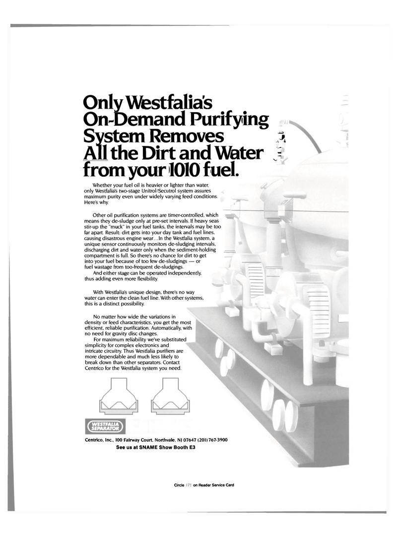 Maritime Reporter Magazine, page 71,  Nov 1985