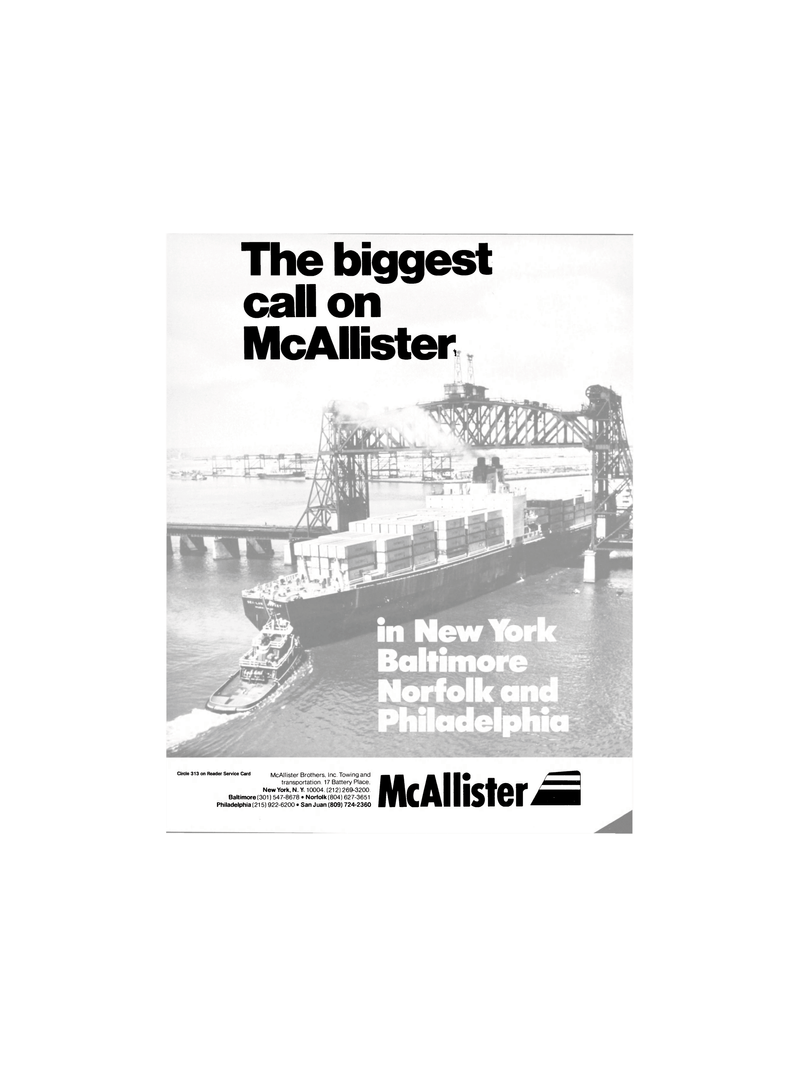 Maritime Reporter Magazine, page 1,  Jan 1986 New York