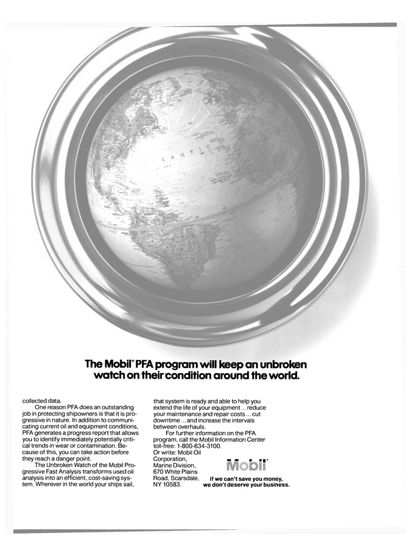 Maritime Reporter Magazine, page 21,  Jan 15, 1986 Oil Corporation
