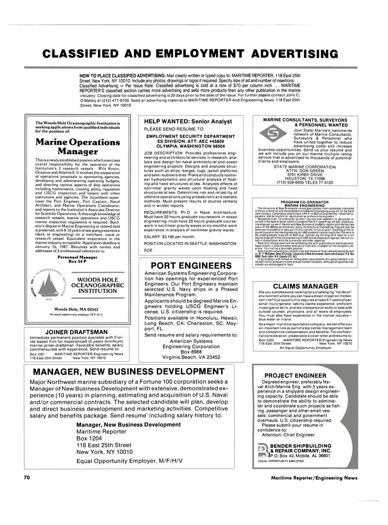 Massachusetts, Maritime Reporter Magazine December 1986 #68